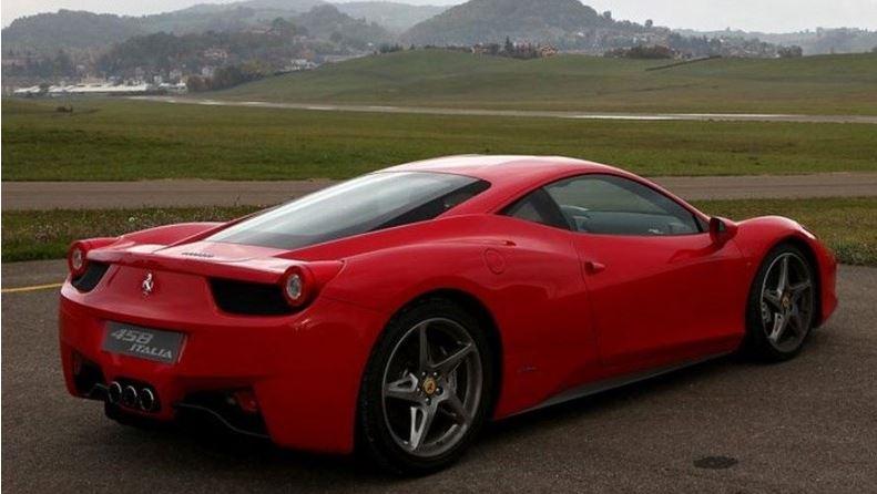 film teinté pour Ferrari